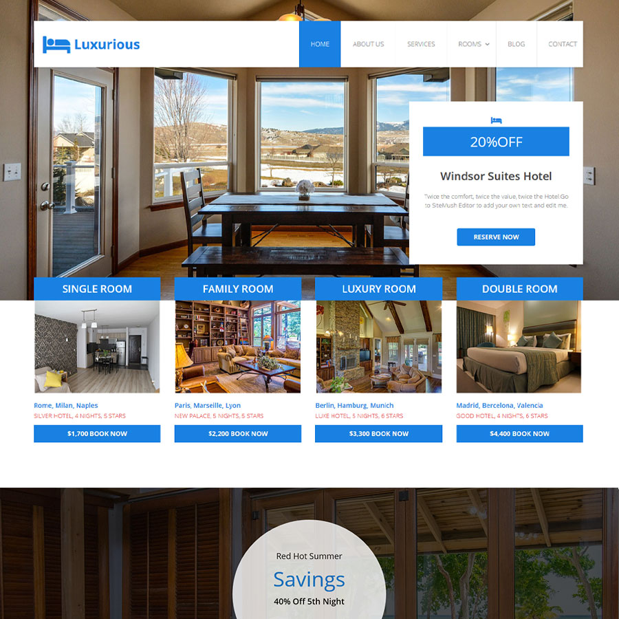 Luxury Theme